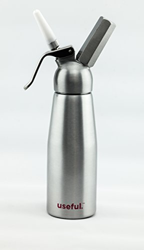 Useful. UH-A112 Whipped Cream Maker 1/2 Liter Canister Whipper