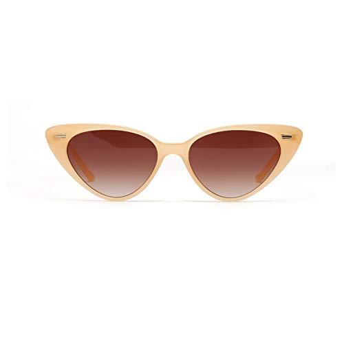 WSXCDEFGH Sonnenbrille-dreieckige Sonnenbrille für die Frauen, die Cat Eye Shade Eyewear kaufen