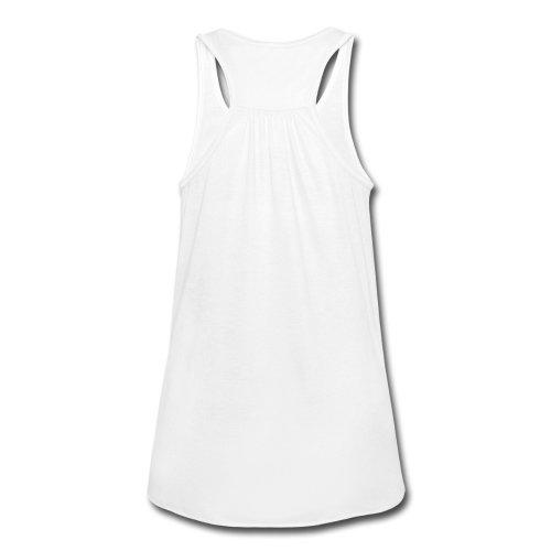 Smiley World Paillettes Sea Shells Disco Bells Débardeur Femme marque Bella de Spreadshirt® Blanc