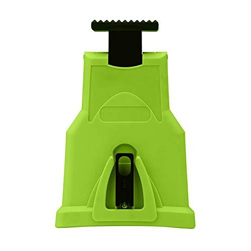 Kit de afilado de motosierra Afilador de cadena de sierra - Amoladora de cuchillas Duradera especial Resistente a la corrosión Herramientas de afilado de piedra rápida Universal para 16-20 pulgadas