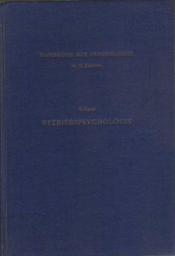 Betriebspsychologie