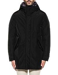 Woolrich Herren WOCPS2734CN03BLK Schwarz Polyester Jacke