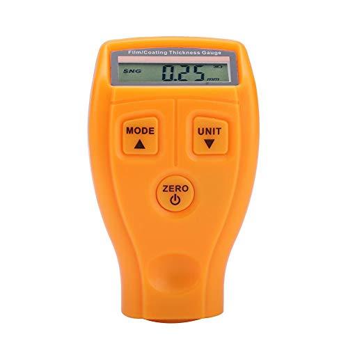 Delaman Schichtdickenmessgeräte Mini Portable LCD-Autolack-Tester Schichtdicken-Digitaldetektor-Messgerät