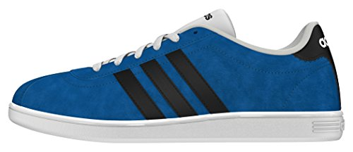 Adidas Vlcourt, Scarpe Low-Top Uomo, Blu, 40 EU Blu (Azuuni / Negbas / Ftwbla)