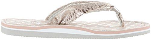 s.Oliver Unisex-Kinder 57100 Zehentrenner, Pink (Dusty Pink 547), 39 EU -
