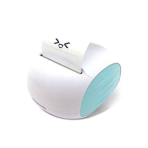 L&Z Bluetooth 4.0 Papierdrucker Wi-Fi Foto Drucker Mini Beweglicher Drahtloser Laber Maker Thermodrucker Tasche Bürobedarf für Android System