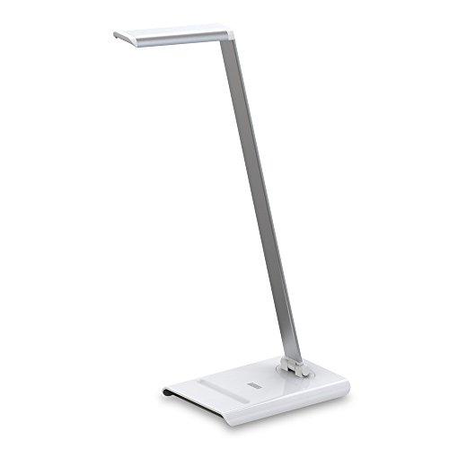 Daffodil LEC250 - LED Schreibtischlampe mit verstellbarer Helligkeit (weiß)
