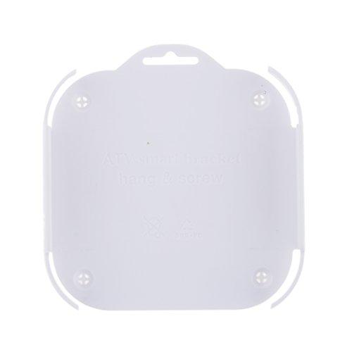 support-fixation-murale-housse-coque-cas-collant-plateau-porte-derriere-tv-pour-apple-tv3-blanc