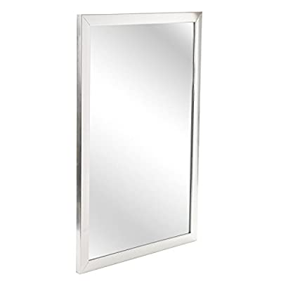 Large Wall Mountable Hanging Mirror Rectangle Bedroom Hallway Bathroom Accessory - inexpensive UK light store.