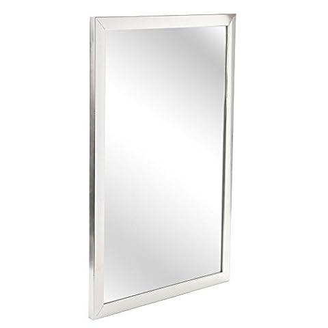 Großer Wandspiegel zum aufhängen, Spiegel, Rechteckig, für Schlafzimmer / Flur / Badezimmer, Zubehör