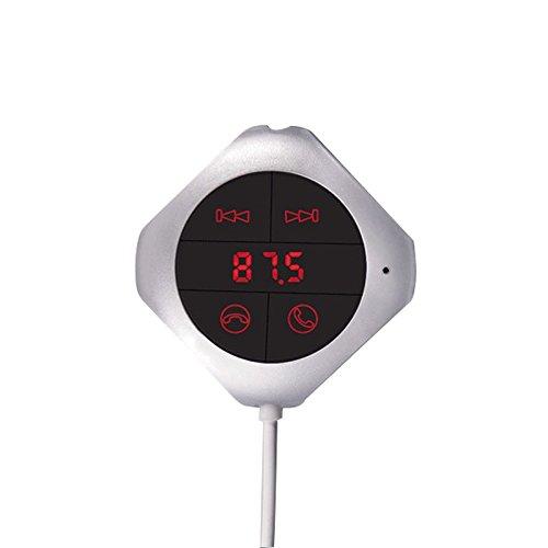 Ocamo Bluetooth Car FM Transmisor Reproductor de MP3 Manos Libres Kit de...