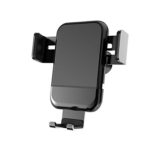 Zell-Telefone-Halter für PKW, Auto-Clamping Air Vent Car Mount Holder Cradle Compatible für iPhone XS/Xs Max/XR/X/8/8 Plus/7/7 Plus Samsung Galaxy S9/S9 Plus und mehr,Black -