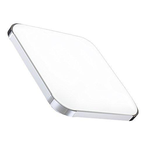 36W Weiß LED Deckenleuchte Deckenlampe Deckenlampe Wohnraumleuchte Beleuchtung Modern Energiespar Licht aus Aluminium Für Wohnzimmer Schlafzimmer Flur Garderobe