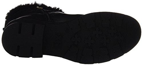 XTI Damen 047530 Biker Boots Schwarz (Black)