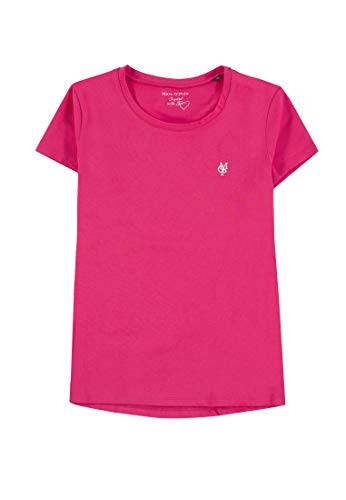 Marc O' Polo Kids Mädchen 1/4 Arm T-Shirt, Rosa (Azalea|Pink 2080), 146 - Mädchen Rosa Armee T-shirt