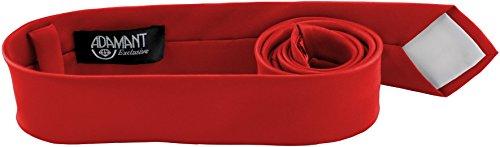 en Krawatte Rot 5cm Schmal ()