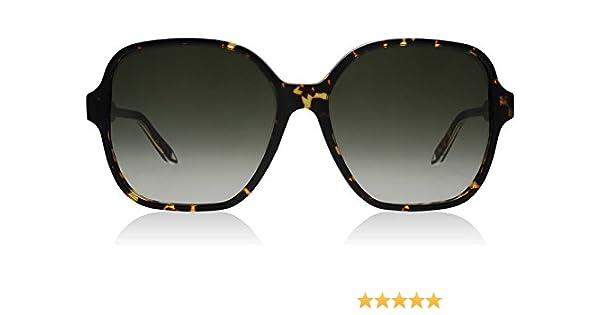 d277970128 Victoria Beckham VBS101 C02 Tort Solid Iconic Square Square Sunglasses Lens  Cat  Amazon.co.uk  Clothing