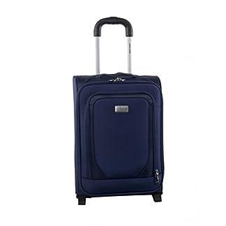 Carro a partir viaje semirrígido maleta PIERRE CARDIN azul el equipaje en la mano avión 33x18x48cm FG1773