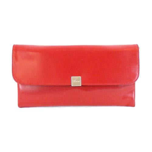 Pavini Abendtasche Roma rot Damen Tasche Clutch Ausgehtasche Echt-Leder 14825