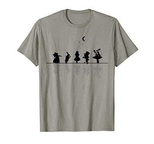 Wonderland Starry Night - Silhouette Style T-Shirt -