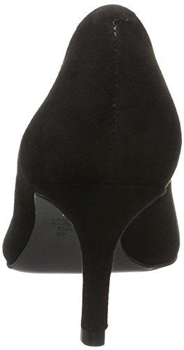 Buffalo 755x-128 Kid Suede, Escarpins Femme Noir (Black 01)