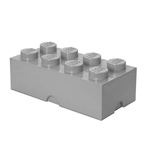 LEGO Aufbewahrungsstein, 8 Noppen, Stapelbare Aufbewahrungsbox, 12