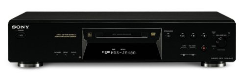 Sony MDS-JE480/B  MiniDisc Deck, schwarz