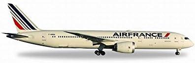 Maquette Avion AIR FRANCE BOEING 787-9 Dreamliner au 1/500 En Métal | Paquet Solide Et élégant