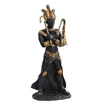 Este maravilloso 11cm Figura estatua de resina de dios egipcio Osiris mitológica tiene los detalles más finos y la más alta calidad que usted encontrará en cualquier parte. 11(Dios egipcio Osiris mitológica figura resina estatua es verdaderamente n...
