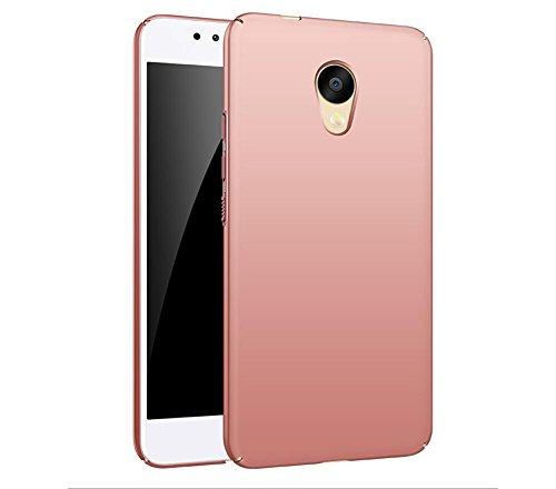 """EIISSION Meizu M5S (5.2"""") Custodia,Ultra sottile che cade superficie protettiva opaca Custodia per Meizu M5S (5.2"""") smartphone ,oro rose"""