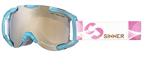 e31f75d5321 Sinner Erwachsene Galaxy OTG Skibrille Brillenträger mit Belüfteten  Spiegelscheibe Extra Polarisierte Scheibe Matte Aquarelle
