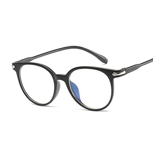 FHXTWB Katzenauge Klarglas Frauen Transparente Linse Brille Weibliche Damen Optische Rahmen Unisex Geschenk
