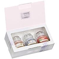 Yankee Candle Ltd 3Petite Jarre Coffret cadeau, Cire, Multicolore, 12.6x 22.3x 6.9cm