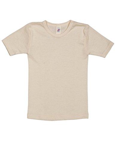 cd1bb5f6766 Engel Children's 100% Organic Merino Wool Vest Short-Sleeve (1. 92cm (