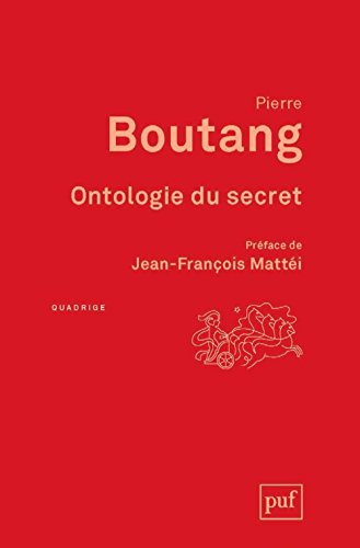 Ontologie du secret