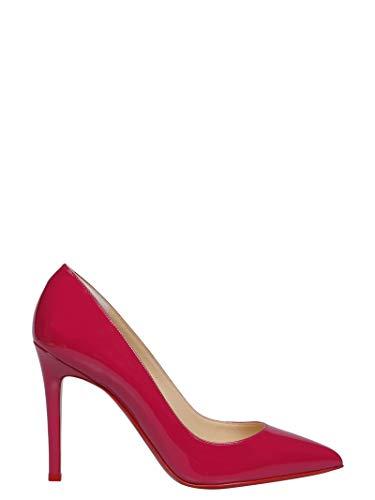 Christian Louboutin Mujer 3080680P291 Rojo Cuero Zapatos Altos