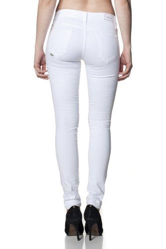 Salsa - Jeans Colette coupe très slim - Femme Blanc
