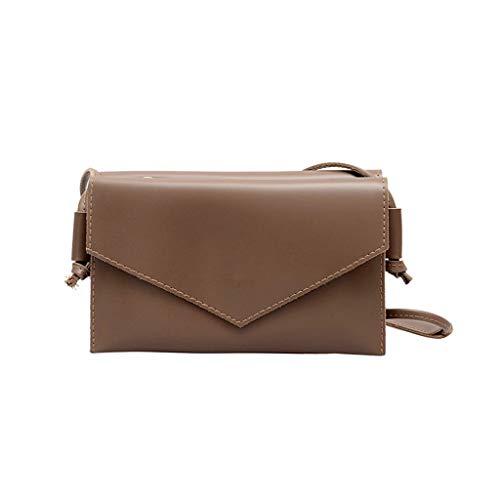 Dtuta Damenhandtaschen Klein Schultertaschen Frauen Einfache Einfarbige Wilde Mode Umschlag Clutch Bag UmhäNgetasche Messenger Bag Leichte Kompakte Und Leicht Zu Tragen