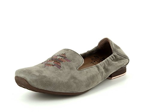 Think Gaudi 80173-21 Damen Damen Slipper in Mittel Beige