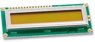 LED B / L 16x1 Powertip-pc1601lru-awb-b-q LCD MODULE