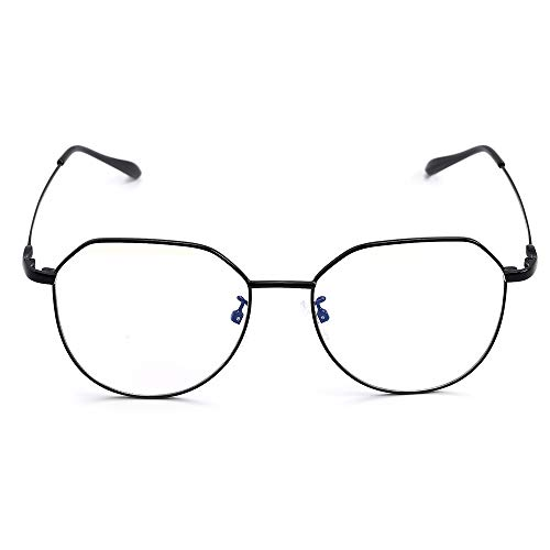Hethrone Lesebrille Blaulichtfilter Computer Brille Vintage Anti-Augen-Belastung Rötung für Männer und Frauen CB-13