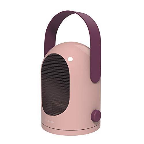 99native Mini Heizlüfter, Kühle und warme Mehrzweckheizung, Heizlüfter Energiesparend, Persönliche Luft Heizgerät,Tragbare Elektrische Kühlerlüfter,Überhitzungsschutz für Haus und Büro (Pink)