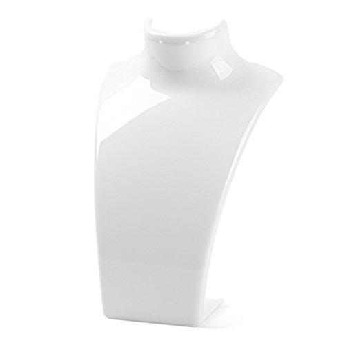 Display08 - manichino espositore per collana e lega, colore: white, cod. 8118748