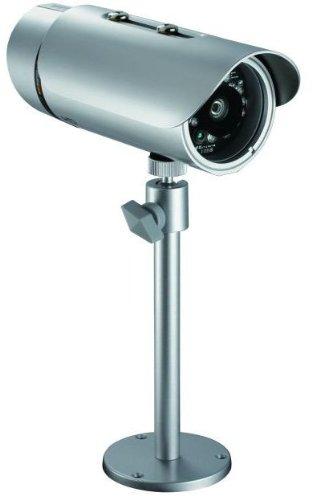 D-Link DCS-7110 PoE Überwachungskamera (Aufnahmen in HD-Qualität, für den Außenbereich)
