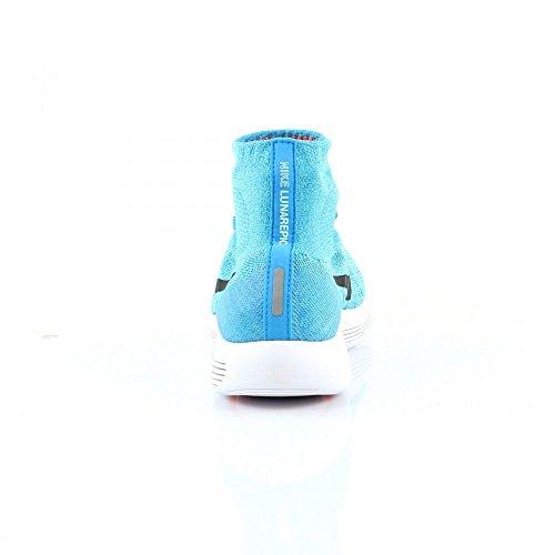 Nike Lunarepic Flyknit, Chaussures de Running Entrainement Homme Bleu - Azul (Gamma Blue / Blk-Pht Bl-Glcr Ic)