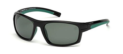 Timberland -  occhiali da sole  - uomo nero lucido 63