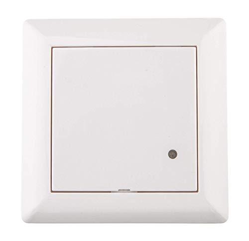HUBER MOTION 8HF Neu, Radar Bewegungsmelder 180°, weiß, Unterputz für Innenraum- und Wandmontage, hochsensibel durch Hochfrequenztechnik, auch für andere Schalterserien mit Rahmenausschnitt 55 x 55 mm