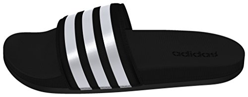 adidas Adilette Cf Ultra Stripes, Damen Dusch- & Badeschuhe, Schwarz (Core Black/Ftwr White/Core Black), 39 EU (6 UK)