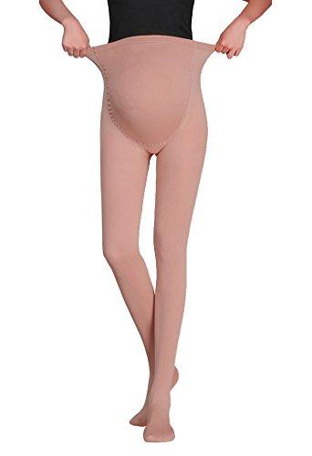 Vellette Strumpfe & Strumpfhosen Opaque Umstandsstrumpfhose Unterstutzung Leggings Mutterschaft Hose fur alle Phasen der Schwangerschaft Damen 180D (Mutterschaft Spandex-leggings)