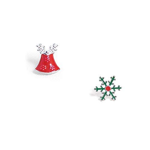 Weihnachts-Ohrenschmaus knallt Bells Ohrfeigen weiblich